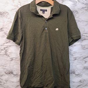Banana Republic Polo Shirt Short Sleeve Green L
